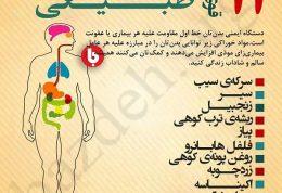 مقابله با عفونت در بدن