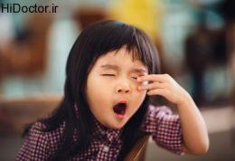ارتباط خواب اطفال با دبایت