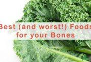 حفاظت استخوان ها با پرهیزات غذایی
