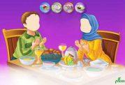 غذا خوردن با اصول اسلامی