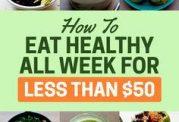 خوردنی های مقرون به صرفه برای سلامتی