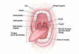 نشانه های بیماری جسمی در دهان