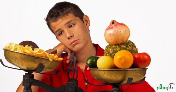 برنامه غذایی سالم برای نوجوانان