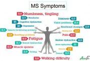 مراحل مختلف عارضه MS