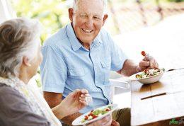 اصول خورد و خوراک سالم در افراد مسن