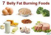 خوردنی هایی برای رفع چربی شکم