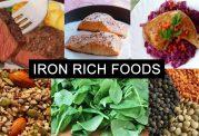 در کنار منابع آهن از این خوردنی ها مصرف کنید