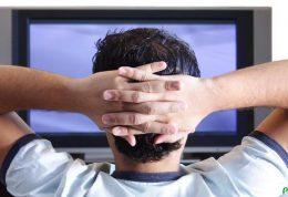 نشستن زیاد پای تلویزیون و این پیامدها