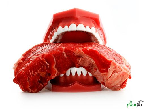 مصرف گوشت قرمز به قیمت داشتن عمری کوتاه