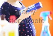 نظافت خانه در بارداری