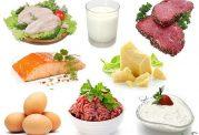 کدام مواد غذایی بیشترین پروتئین را دارند؟