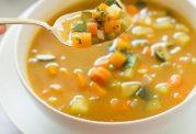 سوپ رژیمی با سبزیجات