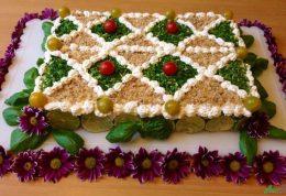 آموزش طبخ کیک مرغ