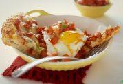 پیتزای گوشت و نیمرو پیشنهاد ویژه سرآشپز