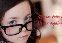 فیکس نگه داشتن عینک روی بینی