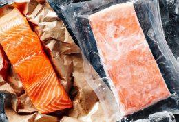 بررسی کیفیت ماهی منجمد