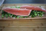 طرز تهیه ماهی قزل آلای افرا