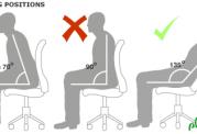 آسیب به اعضای بدن با نشستن طولانی مدت