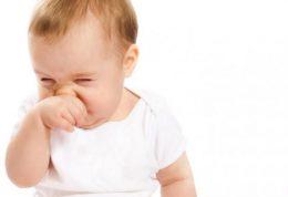 درمان گرفتگی در بینی خردسالان
