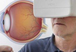 تست بینایی با کمک هدست هوشمند