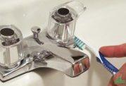 نظافت شیرآلات خانگی