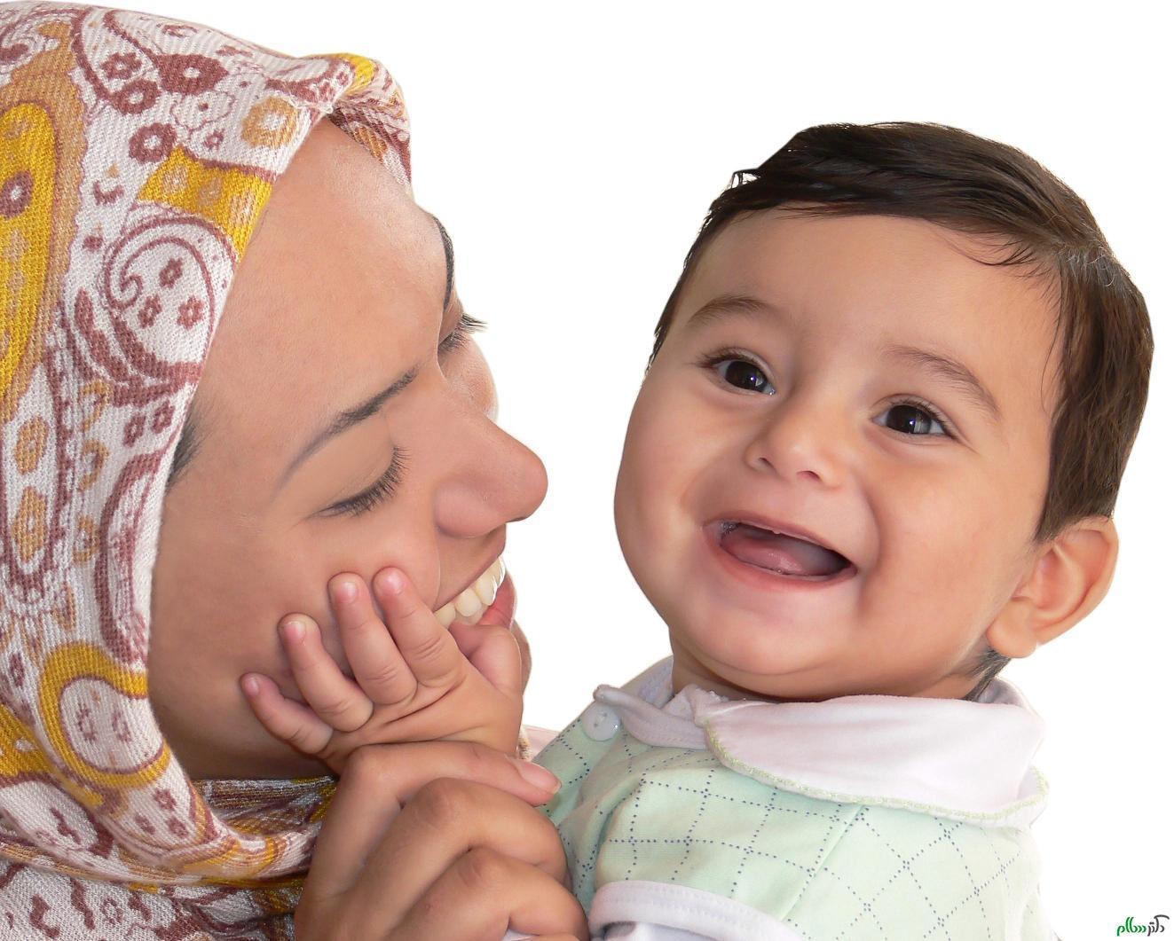 با نوزاد خود ارتباط برقرار کنید
