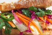 ساندویچ ساده با ماهی