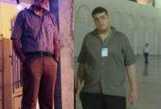 پسر ایرانی که در هفت ماه هفتاد کیلیو وزن کم کرد
