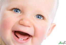 کمک به نوزاد در رویش دندان ها