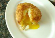آموزش تهیه توپک سیب زمینی تخم مرغی