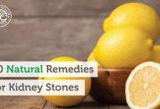 درمان های طبیعی برای سنگ کلیه