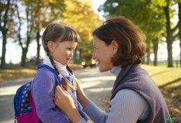 رفع احساسات ناخوشایند خردسالان به مدرسه
