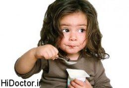 به کودکان خود درست غذا خوردن را بیاموزید !