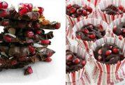 شکلات تلخ با روکش انار