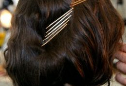 زیباترین و کم خرج ترین مدل موها با سنجاق سر