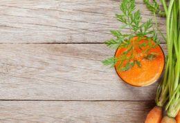 تاثیرات مفید آب هویج روی بینایی