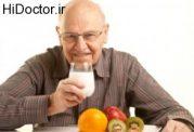 شیوع ناراحتی های گوارشی دوره سالمندی