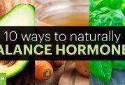 درمان مشکلات هورمونی با مواد طبیعی و سالم