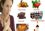 خوراکی های افزایش دهنده سوزش معده