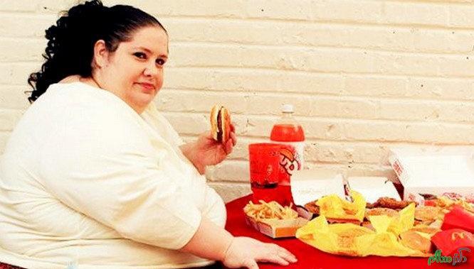 این موارد ناشی از عوارضی چاقی هستند