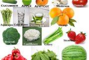 مصرف سبزیجات را از یاد نبرید