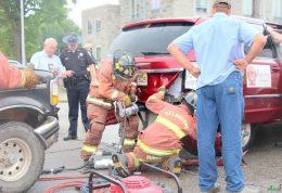 پسر نوجوان 18 ساله آتش نشان