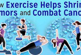 مقابله با سرطان به کمک ورزش