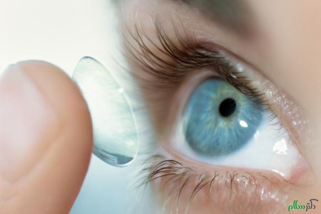 تهیه لنز و رعایت نکات بهداشتی