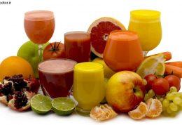 برای زیبایی و سلامتی چه آب میوه هایی خوبست