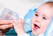 آب قند دادن به نوزاد ممنوع!