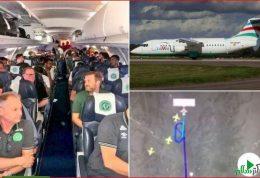 سانحه هوایی کاروان تیم فوتبال در برزیل