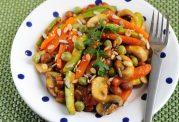 پیش غذای سالم با هویج