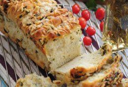 آموزش طبخ نان سیر در خانه