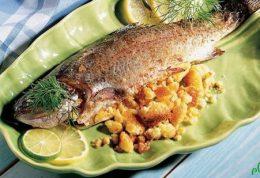 آموزش طبخ ماهی شکم پر خانگی